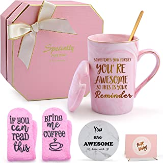 Thank you Gifts for Women, Puchod You're Awesome Mother's Day Appreciation Gifts for Friends Female Funny Birthday Graduat...