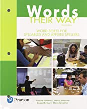 Words Their Way: Word Sorts for Syllables and Affixes Spellers (Words Their Way Series)