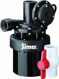 Simer 2935B 1/3 HP Utility Sink Sump Pump