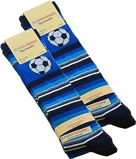 Cotton Prime, 6 pares Calcetines hasta la rodilla para niño con de fútbol
