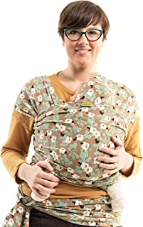 Boba Wrap Baby Carrier, Magnolia - Original Stretchy Infant Sling, Perfect for Newborn Babies and Children up to 35 lbs