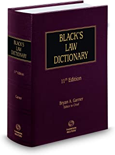 Black's Law Dictionary 11th Edition, Hardcover