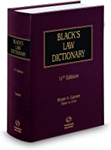 Black's Law Dictionary, 11th Edition