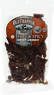 Old Trapper Beef Jerky, Spicy, 10 Ounce