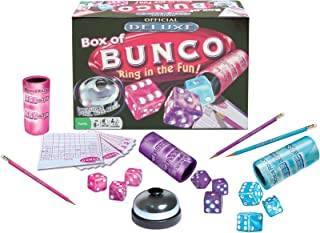 Winning Moves Games Deluxe Box of Bunco