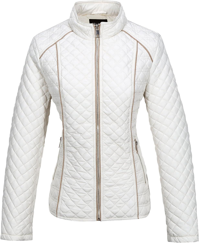 Bellivera Women's Quilted Lightweight Padding Jacket/Vest, Puffer Coat