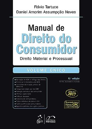 Manual de Direito do Consumidor - Volume Único: Direito Material e Processual - Volume único