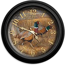"Reflective Art 16"" Fence Line Refuge Classic Clock"
