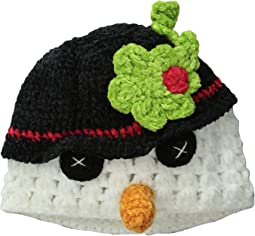 DL2530 Hand Crochet Snowman Hat (Infant/Toddler/Little Kids)