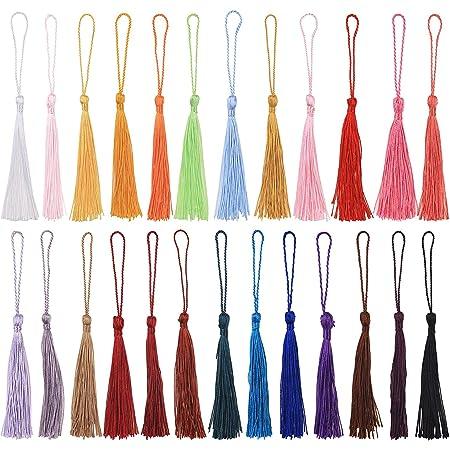Tassel Cotton Tassel,Pink Cone Cap Tassels,3 Inches Thread Tassels 8cm,Cap Tassels SKURSL7