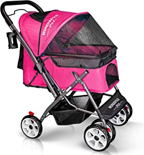 Best dog stroller reversible handle Reviews