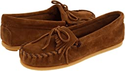 Minnetonka Kids Kilty Suede Moc (Toddler/Little Kid/Big Kid)
