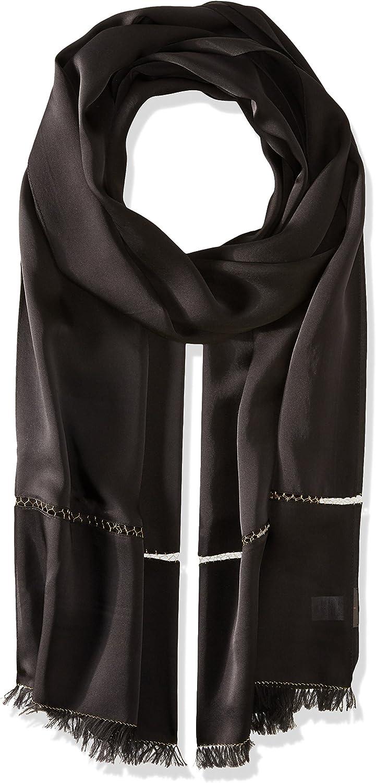 Echo Design Women's Metallic Edge Silk Evening Wrap