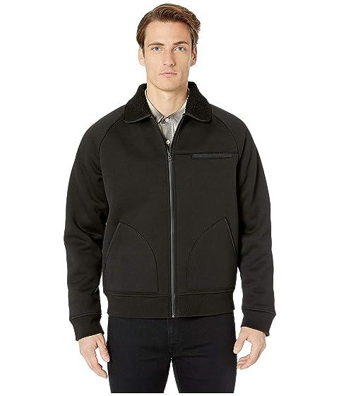 Vince Bonded Sherpa Bomber Jacket
