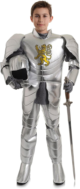 Shield 4 Piece Suit Children Armor Clothing Halloween Toy Helmet and Armor Included Helmet Sword