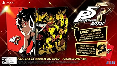 Persona 5 Royal: Steelbook Launch Edition - PlayStation 4