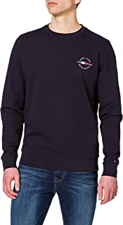 Tommy Hilfiger Circle Chest Corp Crewneck Sweater Homme