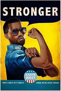 Noir Gallery Kanye West Stronger Hiphop Music 5