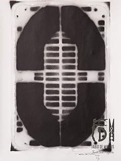 Letra O ABC Hort por Fabio De Minicis - Lienzo original 1/7-50 x 70 cm.