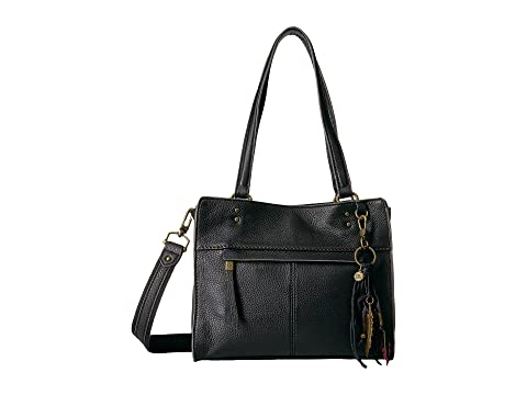 The Sak Alameda Leather Satchel at Zappos.com 0bc298376fe03