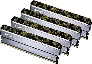 G.Skill Sniper X F4-3600C19Q-64GSXKB (DDR4-3600 16GB×4)