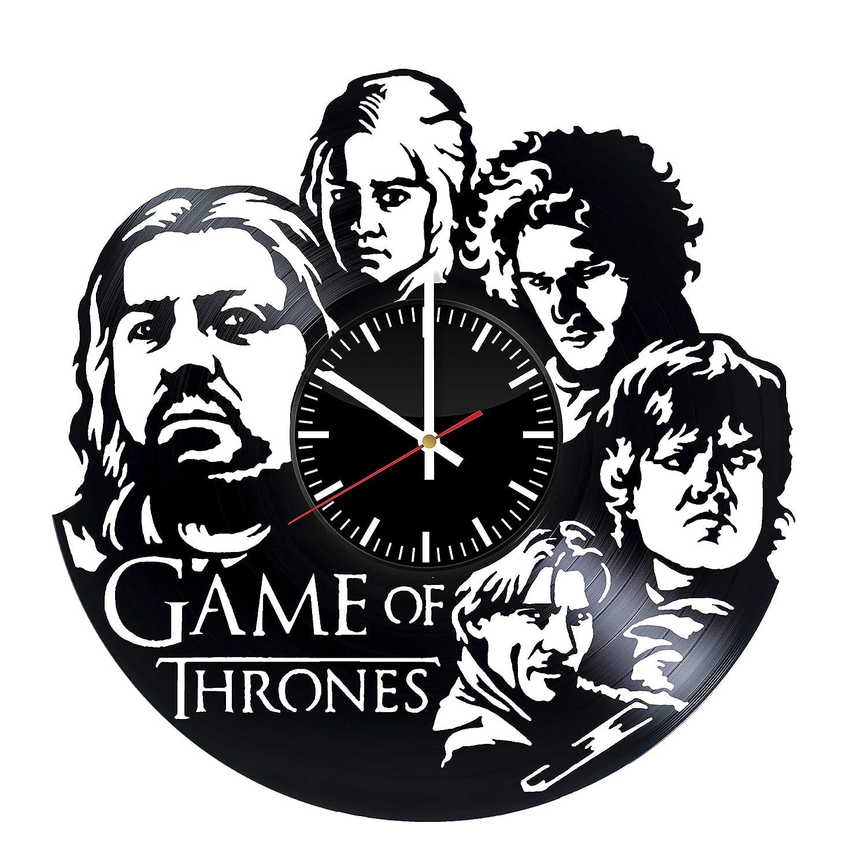 Game of Regular discount Thrones Vinyl Ar Clock Chicago Mall Record Wall