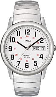 Men's Easy Reader Day-Date Expansion Band Watch