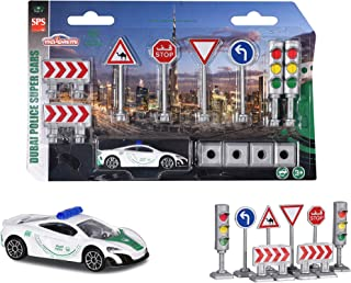 MAJORETTE - DUBAI POLICE TRAFFIC SIGN SET