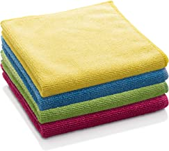 E-Cloth General Purpose Microfiber Cleaning Cloth, Assorted Colors, 4 Count