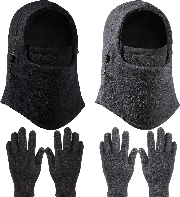 2 Pieces Kid Winter half Windproof Hat Pairs Fleec Polar with Kid's Brand Cheap Sale Venue