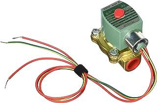 4 Cv Flow 480V//60 Hz Nitrile Butylene Sealing 2-Way Normally Closed 20056 5//8 Orifice 440V//50 Hz 1//2 Pipe Size 5//8 Orifice ASCO Valve Inc ASCO 8210G002-480//60,440//50 Brass Body Pilot Operated General Service Solenoid Valve 1//2 Pipe Size