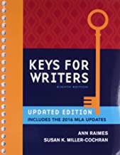 Bundle: Keys for Writers, 8th + LMS Integrated MindTap English, 2 terms (12 months) Printed Access Card