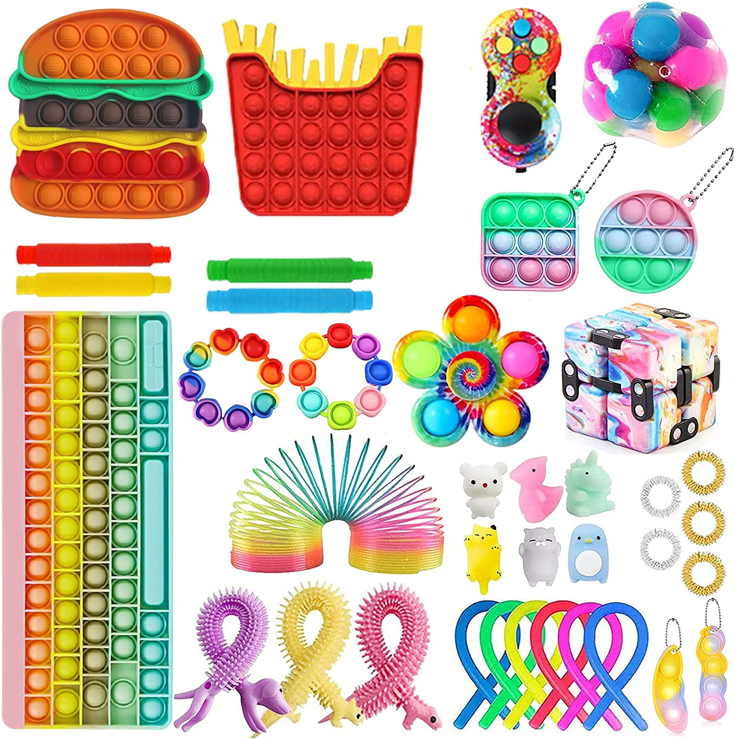 Fidget Outlet sale feature Toys Pack Cheap Big Str Sensory Block Set Free shipping on posting reviews Keyboard