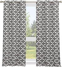 ستائر النوافذ من هوم مايسون فيدا تريليس، 38X84، فضي