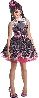 Monster High - Disfraz de Draculaura Sweet para niña, Talla L infantil 3-4 años (Rubie's 880992-S)