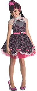 Monster High Sweet 1600 Deluxe Draculaura Costume, Small