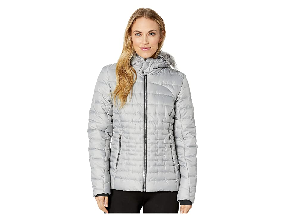 Spyder Edyn Hoodie Insulated Jacket (Alloy/Alloy) Women