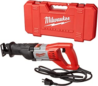 Milwaukee 6519-31 12 Amp Corded 3000 Strokes Per Minute Reciprocating Sawzall w/ Variable..