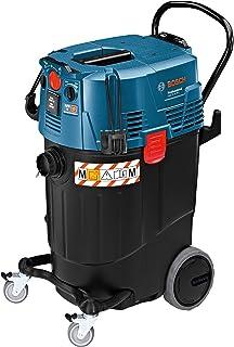 Bosch Professional GAS 55 M AFC - Aspirador seco/h?medo (1380 W, capacidad 55 l, clase polvo M, 254 mbar, manguera antiest?tica)