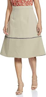 River Synthetic a-line Skirt