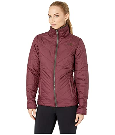 The North Face Mossbud Insulated Reversible Jacket (Fig/Bittersweet Brown) Women