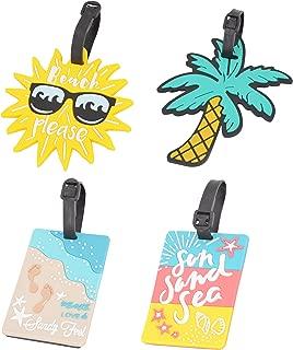 beach themed luggage