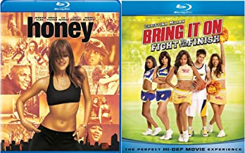Honey Blu Ray + Bring It On: Fight to the Finish Blu Ray Fun Dance Cheer Teen movie Set Combo Edition
