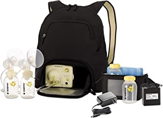Medela Pump in Style Advanced Breast Pump with Backpack, Double Electric Breastpump, Portable Battery Pack, Adjustable Speed and Vacuum, Power Supply Adapter 110v - 220v