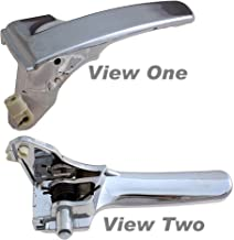 APDTY 92753 Interior/Inside Door Handle Driver-Side Front Left or Rear Left Fits 2008-2010 Jeep Liberty (Chrome Plastic; Replaces 68033461AA)