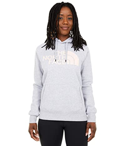 The North Face Half Dome Pullover Hoodie (TNF Light Grey Heather) Women