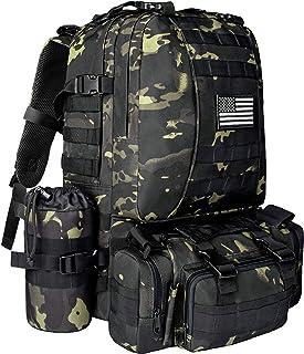 NOOLA Military Tactical Backpack Molle Bag Army Assault Pack Built-up Rucksack