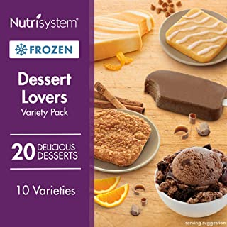 Nutrisystem® Dessert Lovers Variety Pack, 20 Count (Frozen)