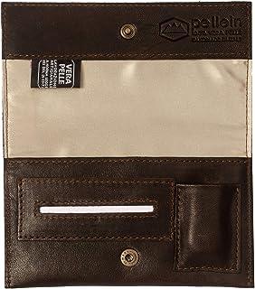 Pellein - Portatabacco in vera pelle Slough - Astuccio porta tabacco, porta filtri, porta cartine e porta accendino. Handm...