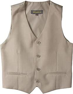 Spring Notion Big Boys' Four Buttons Suit Vest Waistcoat